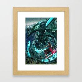Monster Hunter Files Framed Art Print