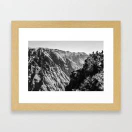 PE // 0006 Framed Art Print