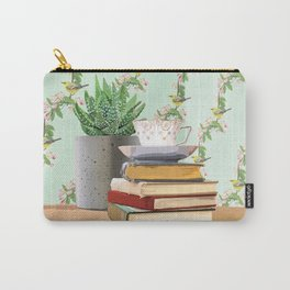 Tea and book love Carry-All Pouch
