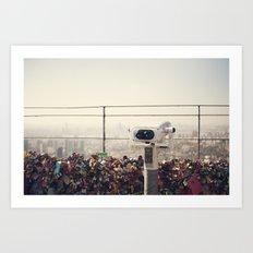 The View: Seoul Art Print