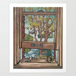 View from the Window Art Print