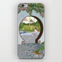 mulan iPhone & iPod Skins featuring Mulan by Lesley Vamos