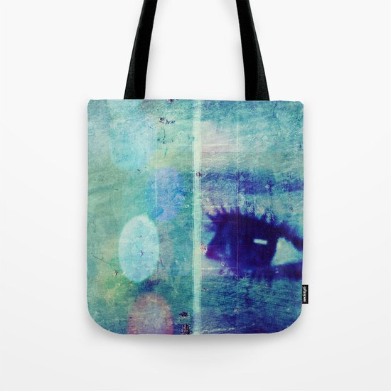The Glaring Sea Tote Bag