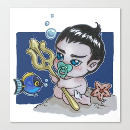 Baby Namor Canvas Print
