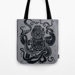 Mark V Octopus - grey Tote Bag