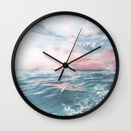Summers End Wall Clock