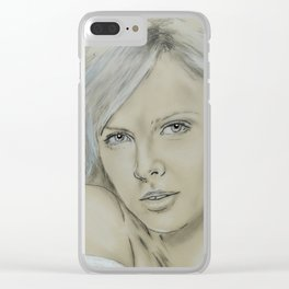 Charlize Clear iPhone Case