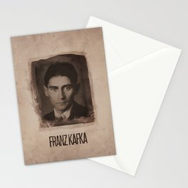 Franz Kafka Stationery Cards