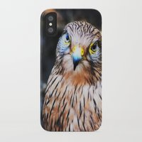 millenium falcon iPhone & iPod Cases featuring Falcon by Amee Cherie Piek