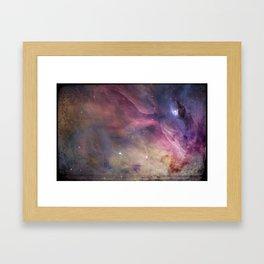 Gundam Retro Space 2 - No text Framed Art Print