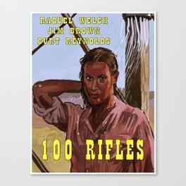 100 Rifles Canvas Print