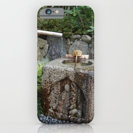 bamboo water spout iPhone Case