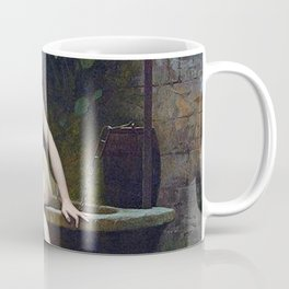 TRUTH COMING OUT OF HER WELL TO SHAME MANKIND - JEAN-LEON GEROME Coffee Mug