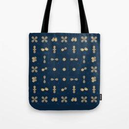Orbitals Pattern | Chemistry | Vintage | Surreal Tote Bag