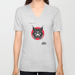 Wild Bobcat - Wild Bobcat fan Design Unisex V-Neck