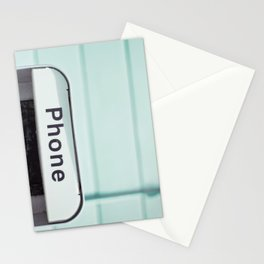 Retro Phone Stationery Cards