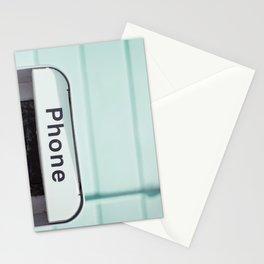 Retro Phone Stationery Cards