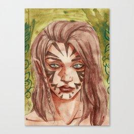 Vernossiel   Scoia'tael Canvas Print