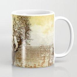 Elephant Tree Abstract Coffee Mug