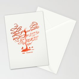 Your hear (monochrome version) Stationery Cards