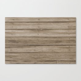 Natural Wood Canvas Print