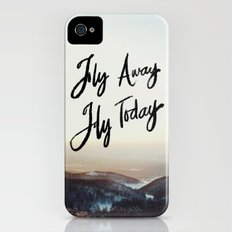 Fly Away Fly Today Slim Case iPhone (4, 4s)