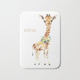 Be YOU tiful Giraffe Baby Bath Mat