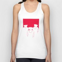 kids Tank Tops featuring Kids by Black Bear / White Bear