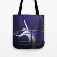techno Tote Bags featuring Techno Diva by tscreative