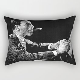 George Gershwin Rectangular Pillow
