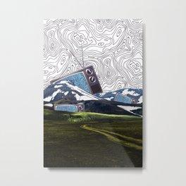 Tv island Metal Print