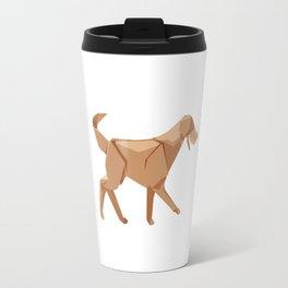 Origami Dog Travel Mug