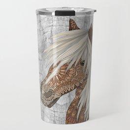 Haflinger Horse Travel Mug