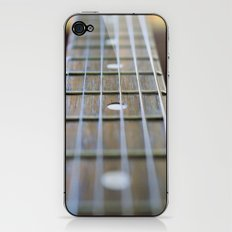 Guitar Neck and Strings iPhone & iPod Skin