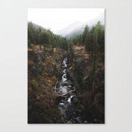 Wallowa Creek Canvas Print