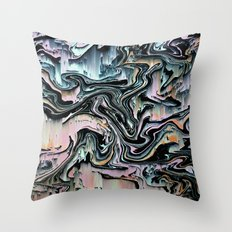 swrlgltch Throw Pillow