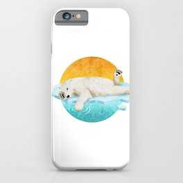 Too Much To Bear iPhone Case
