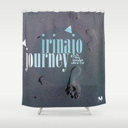 Irinajo Journey Shower Curtain