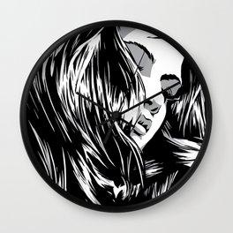 RZP Girl Wall Clock