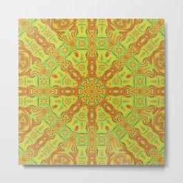Vibrant Kaleidsocope 4 Metal Print