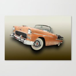 Happy Days with the Top Down Canvas Print