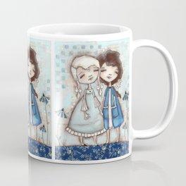 When I Am Blue - by Diane Duda Coffee Mug