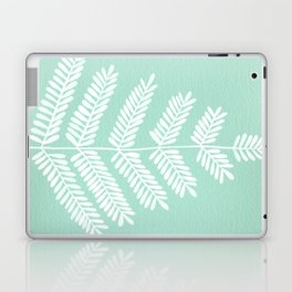 Mint Leaflets Laptop & iPad Skin