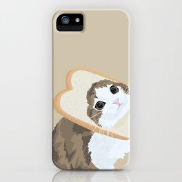 Breadface Cat iPhone Case