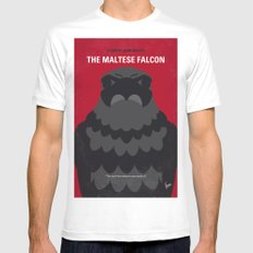 No780 My The Maltese Falcon minimal movie poster Mens Fitted Tee MEDIUM White