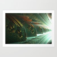 Cannon Battery (Light) Art Print