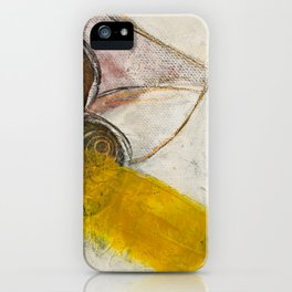 Still Life with Yellow Strip iPhone Case
