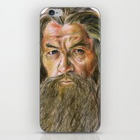 gandalf iPhone & iPod Skins featuring Gandalf by Labani
