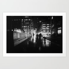 New York City Noir Art Print