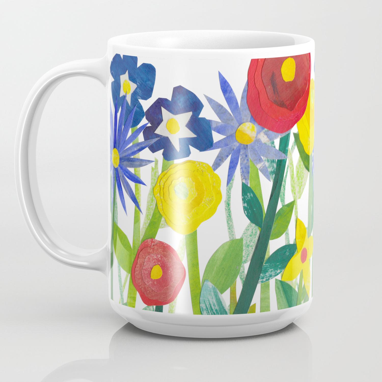 Spring Flowers Coffee Mug By Benmorgan Society6
